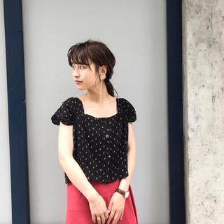 カスタネ(Kastane)のkastane 花柄楊柳ビスチェ(シャツ/ブラウス(半袖/袖なし))