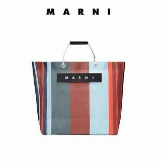 Marni - marniラッカーレッド トートバッグ