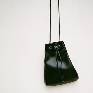 CLANE DRAW STRING BAG クラネ  ドローストリングバッグ(ショルダーバッグ)