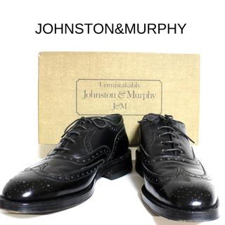 アレンエドモンズ(Allen Edmonds)の[ JHONSTON&MURPHY ]  美品 アリストクラフト 箱、袋付き(ドレス/ビジネス)