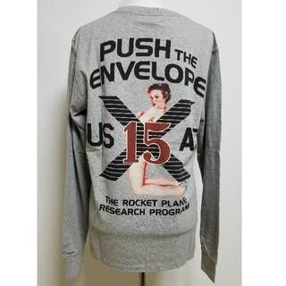 アヴィレックス(AVIREX)のアビレックス☆US CTTN TEE X-15 PINUP GIRL☆Lサイズ(Tシャツ/カットソー(七分/長袖))
