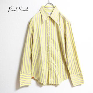 ポールスミス(Paul Smith)の[ Paul Smith ] 太めストライプ シャツ レアカラー Lサイズ(シャツ)