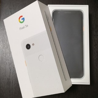 ANDROID - Google Pixel 3a ホワイト 新品未使用