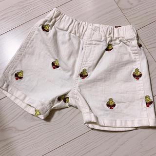 ヒスミニ 刺繍 ショートパンツ 90