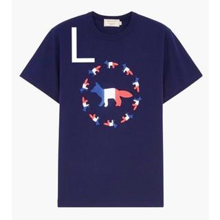 MAISON KITSUNE' - メゾンキツネ Tシャツ 新品  ユニセックス 夏 秋 即日発送 ラクマ限定価格