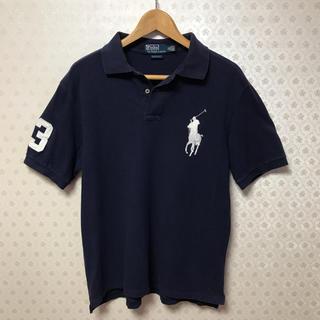 ポロラルフローレン(POLO RALPH LAUREN)の♦️ポロラルフローレン♦️半袖ポロシャツ♦️ネイビー♦️鹿の子生地(ポロシャツ)