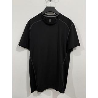 エイチアンドエム(H&M)のH&M SPORT 速乾Tシャツ ブラック(Tシャツ/カットソー(半袖/袖なし))