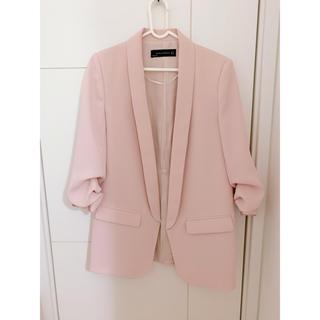 ZARA - ZARA ザラ ピンク ジャケット