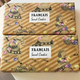 ★フランセ★果実をたのしむサンドクッキー 6個 × 2箱