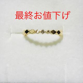 エテ(ete)のこう様♡エテ K10ブラウンダイヤリング(リング(指輪))