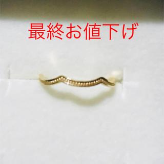 エテ(ete)の最終お値下げ♡エテ K10イエローゴールドピンキーリング(リング(指輪))