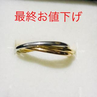 K18 トリニティリング(リング(指輪))