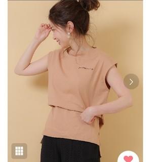 who's who Chico - 美品☆who's who Chico ワンポイント刺繍ボトルネックTシャツ