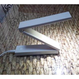 ムジルシリョウヒン(MUJI (無印良品))の無印良品の折り畳み式ライト(テーブルスタンド)