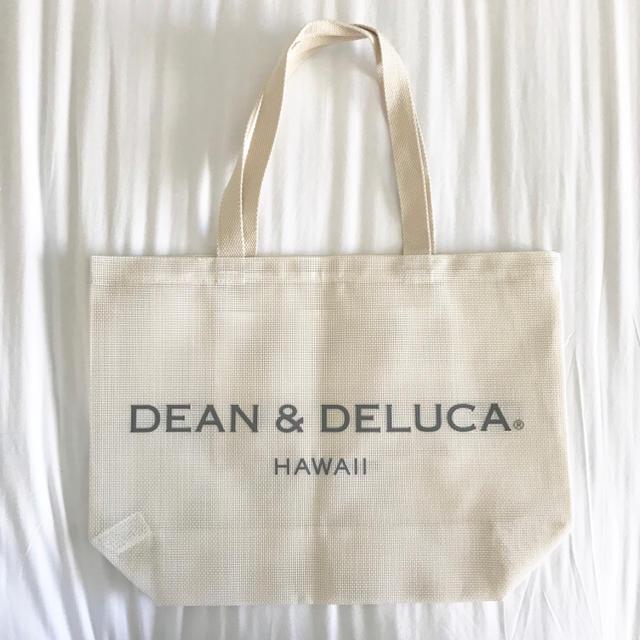 Dean Deluca Dean Deluca ハワイ メッシュ トートバッグ 白 リッツカールトン限定の通販 By Garden Shouette S Shop ディーンアンドデルーカならラクマ