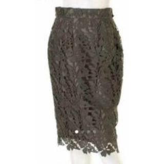 マイストラーダ(Mystrada)のMystrada マイストラーダ  スプリングレースタイトスカート(ひざ丈スカート)