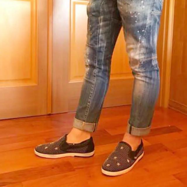 JIMMY CHOO(ジミーチュウ)のジミーチュウ シューズ スリッポン スニーカー メンズの靴/シューズ(スリッポン/モカシン)の商品写真