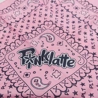 ピンクラテ(PINK-latte)の【新品】ピンクラテ バンダナ(バンダナ/スカーフ)