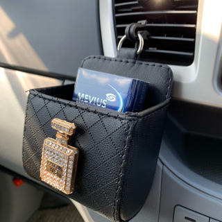 ⭐︎キラキラ香水瓶付き小物ケース⭐︎吹き出してポケット