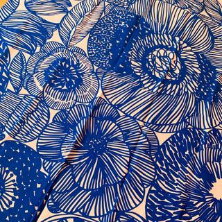 マリメッコ(marimekko)の新品★marimekko はぎれ 生地 53×145 クルイェンポルヴィ ピンク(生地/糸)