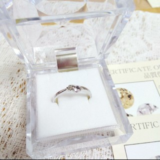 天然ダイヤモンド  インペリアルトパーズ  リング  指輪(リング(指輪))