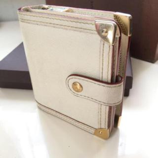 LOUIS VUITTON - 正規品ルイヴィトンスハリコンパクトジップ 折り財布