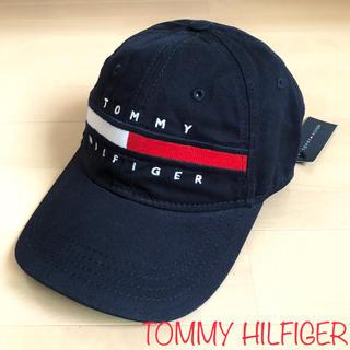 TOMMY HILFIGER - 本日限り‼️TOMMY HILFIGER 新品タグ付き フラッグ刺繍 キャップ