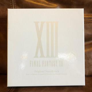 スクウェアエニックス(SQUARE ENIX)のファイナルファンタジー13 サウンドトラックCD(ゲーム音楽)