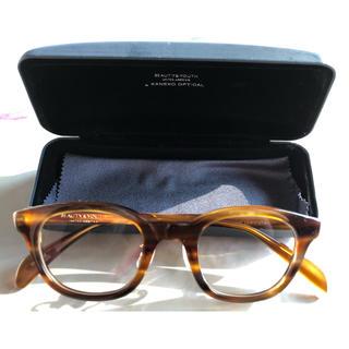ビューティアンドユースユナイテッドアローズ(BEAUTY&YOUTH UNITED ARROWS)のBEAUTY&YOUTH×金子眼鏡 コラボ 眼鏡 celluloid(サングラス/メガネ)