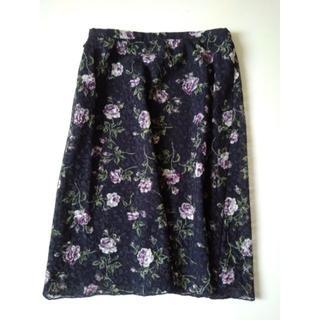 レストローズ(L'EST ROSE)のスカート(ひざ丈スカート)
