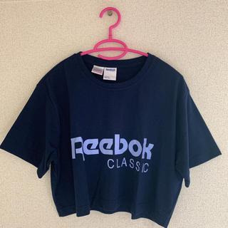Reebok - Reebok リーボック レディース クロップド ショート丈 Tシャツ