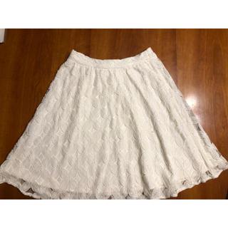♡ホワイトレース(株)ワールドのスカート綺麗・可愛い♡(ひざ丈スカート)