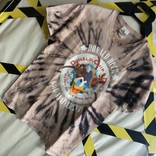 チップアンドデール(チップ&デール)の世界に1つ 90's Disney ドナルド チップデール  タイダイ Ţシャツ(Tシャツ/カットソー(半袖/袖なし))