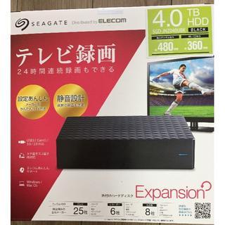 ELECOM - 【新品】Seagate USB3.0接続 外付けハードディスク 4.0TB