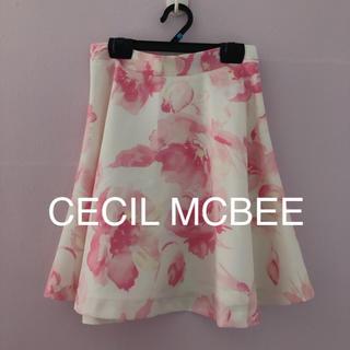 CECIL McBEE - CECIL MCBEE Aライン スカート