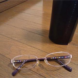 マークバイマークジェイコブス(MARC BY MARC JACOBS)の眼鏡 フレーム(サングラス/メガネ)
