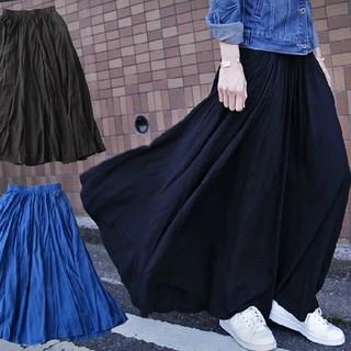 ロングスカート(青) 新品、未使用(