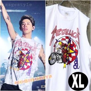 ワンオクロック(ONE OK ROCK)のXL 94mettalica worldtour Tシャツ(Tシャツ/カットソー(半袖/袖なし))