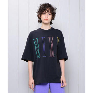BEAUTY&YOUTH UNITED ARROWS - H beauty&youth NIKE LOGO BIG Tシャツ