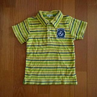 サンカンシオン(3can4on)の3can4on (さんかんしおん) 110cm 半袖 襟付きのTシャツ(Tシャツ/カットソー)