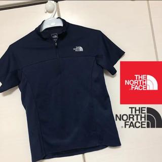 THE NORTH FACE - ノースフェイス S 速乾性 半袖 ハーフジップ Tシャツ レディース キッズ