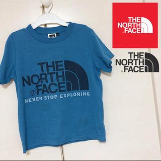THE NORTH FACE - ノースフェイス 120 速乾性 半袖 ビックロゴ Tシャツ キッズ