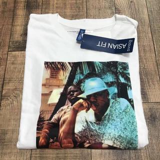 エイチアンドエム(H&M)の白L H&M Jay-Z Notorious B.I.G. Tee(Tシャツ/カットソー(半袖/袖なし))