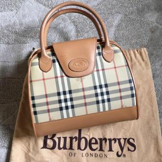 BURBERRY - オールド ヴィンテージ バーバリー ノバ チェック ハンドバッグ