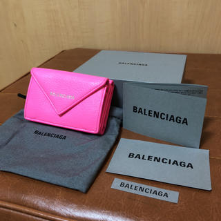 バレンシアガ(Balenciaga)のバレンシアガ ペーパーミニウォレット 財布 未使用品(財布)