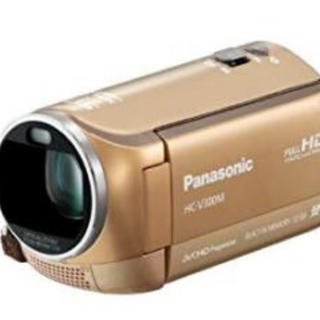 Panasonic - Panasonic ビデオカメラ ゴールド 32GB HC-V300M