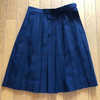 制服 紺 プリーツスカート