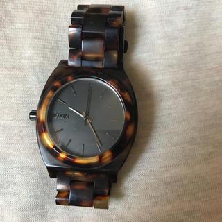 NIXON - Nixon  べっ甲  腕時計