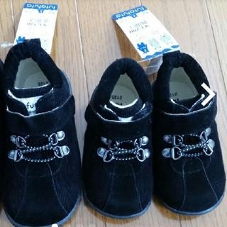 フタフタ(futafuta)のコーデュロイ ブーツ 14センチのみ 新品(ブーツ)