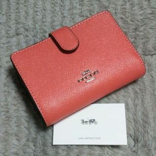 COACH - 【新品】コーチ COACH 二つ折り財布  F11484